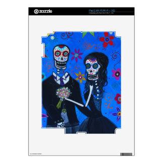 Dia de los Muertos Special Wedding Skin For The iPad 2