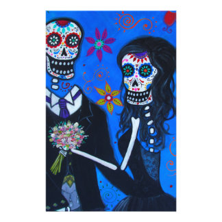 Dia de los Muertos Special Wedding Stationery