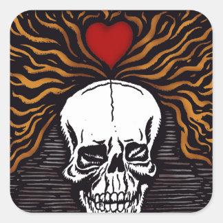 Día de los Muertos Square Sticker