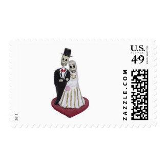 Dia de los Muertos Stamps