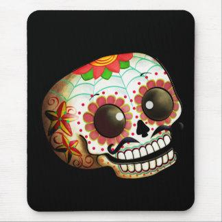 Dia de Los Muertos Sugar Skull Art Mouse Pad