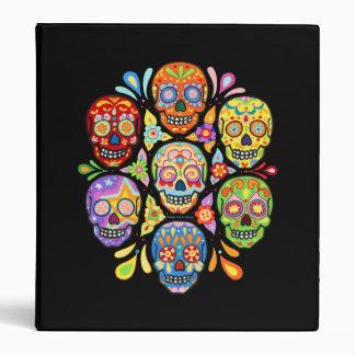 Dia de los Muertos Sugar Skull Binder