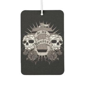 Dia De Los Muertos Sugar Skull Cross Roses