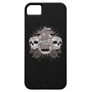 Dia De Los Muertos Sugar Skull Cross Roses iPhone SE/5/5s Case