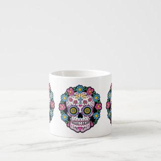 Dia de los Muertos Sugar Skull Espresso Cup
