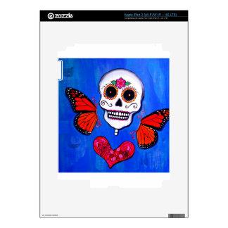 Dia De Los Muertos Sugar Skull Painting iPad 3 Skin