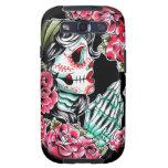 Dia De Los Muertos Sugar Skull Tattoo Flash Galaxy S3 Cover