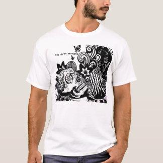 Dia de los Muertos T-Shirt Playera