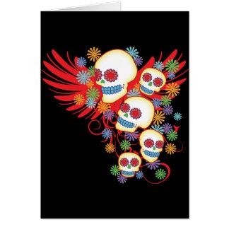 Dia de los Muertos Felicitacion
