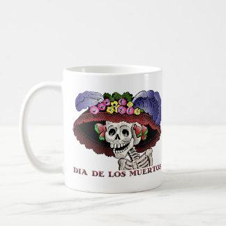 Dia de los Muertos [taza] Taza Básica Blanca