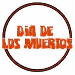 DIA DE LOS MUERTOS Text Design Cut Outs