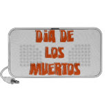 DIA DE LOS MUERTOS Text Design iPhone Speakers