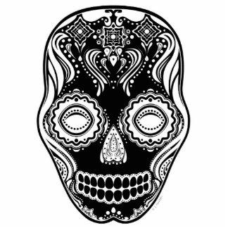Dia de los Muertos That Girl Skull Black Cutout