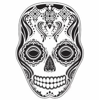 Dia de los Muertos That Girl Skull Cutout