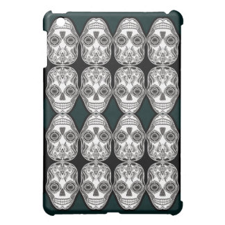 Dia de los Muertos That Girl Skull Diamond Pattern Case For The iPad Mini