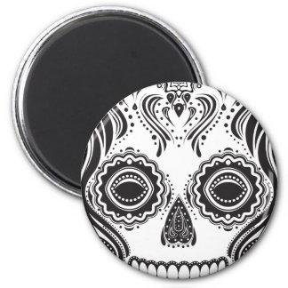 Dia de los Muertos That Girl Skull Magnet