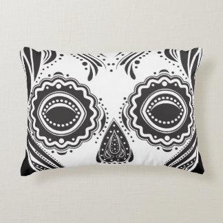 Dia de los Muertos That Girl Skull Accent Pillow