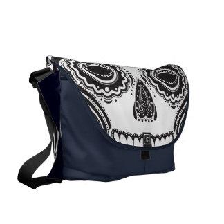 Dia de los Muertos That Girl Skull Messenger Bag