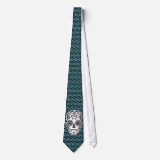 Dia de los Muertos That Girl Skull Neck Tie