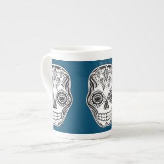 Dia de los Muertos That Girl Skull Tea Cup