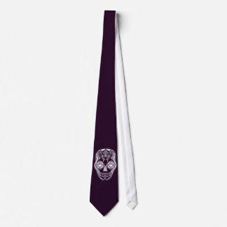 Dia de los Muertos That Girl Skull White Tie