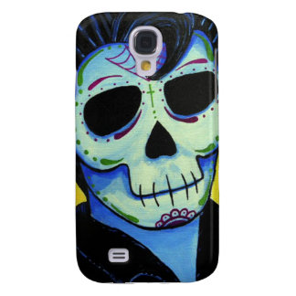 Dia de los Muertos The King of Rock Samsung Galaxy S4 Case