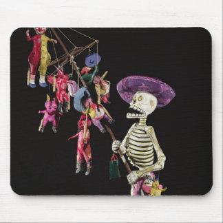 Día de los muertos: Vendedor ambulante del juguete Tapetes De Raton