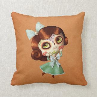 Dia de Los Muertos Vintage Doll Pillows