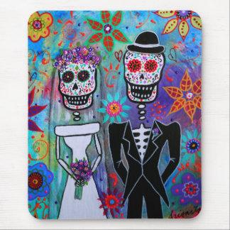 DIA DE LOS MUERTOS WEDDING MOUSEPADS