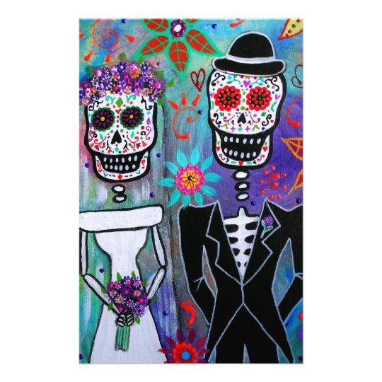 DIA DE LOS MUERTOS WEDDING STATIONERY