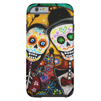 DIA DE LOS MUERTOS WEDDING TOUGH iPhone 6 CASE