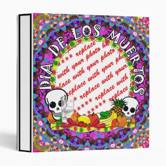 Dia De Los Muertos Wild Colors Photo Frame Binder