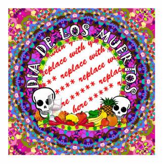 Dia De Los Muertos Wild Colors Photo Frame Cutout