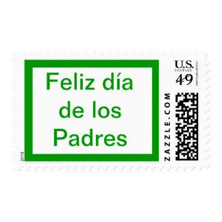 Dia de los Padres Stamp