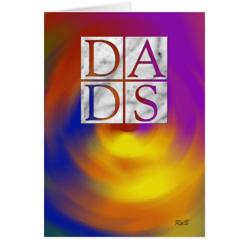 Día de los papás tarjeta de felicitación