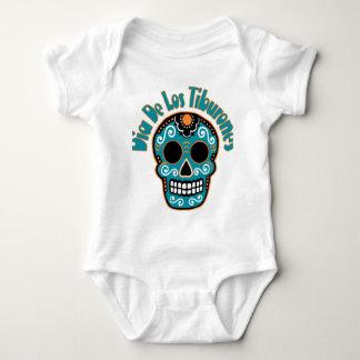 Dia De Los Tiburones.png Baby Bodysuit