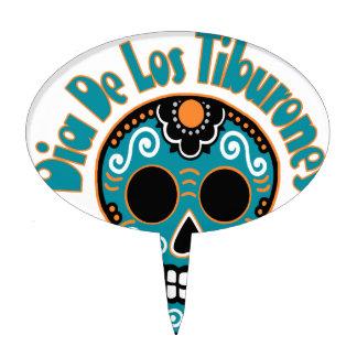 Dia De Los Tiburones.png Cake Topper