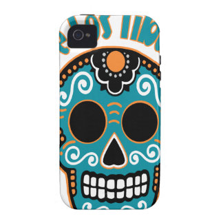Dia De Los Tiburones.png Case-Mate iPhone 4 Case