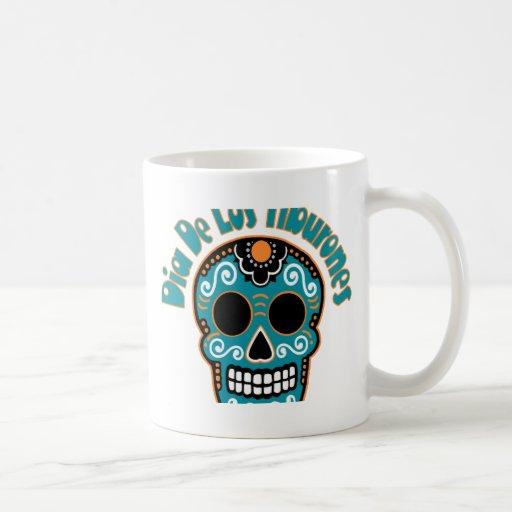 Dia De Los Tiburones.png Classic White Coffee Mug