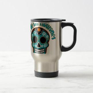 Dia De Los Tiburones.png Coffee Mugs