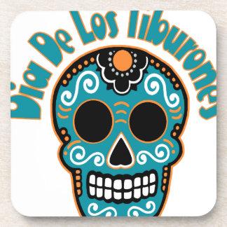 Dia De Los Tiburones.png Drink Coasters