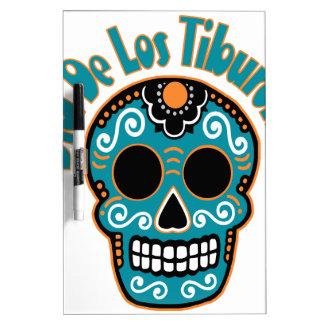 Dia De Los Tiburones.png Dry Erase Board