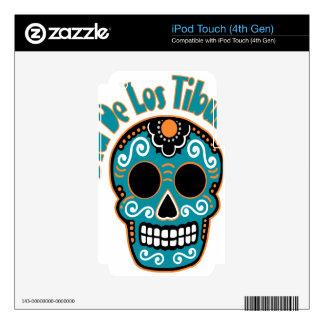 Dia De Los Tiburones.png iPod Touch 4G Decals