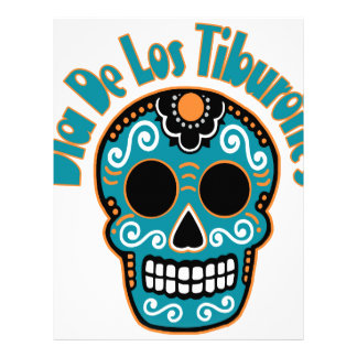 Dia De Los Tiburones.png Letterhead Design