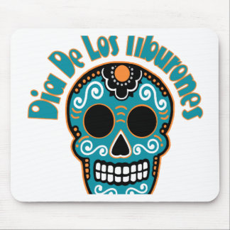 Dia De Los Tiburones.png Mousepads