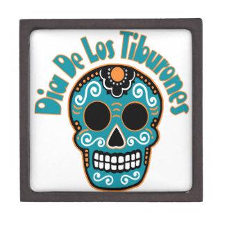 Dia De Los Tiburones.png Premium Gift Boxes