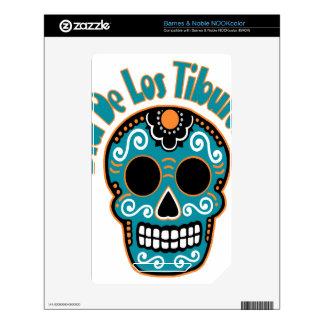 Dia De Los Tiburones.png Skin For NOOK Color