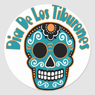 Dia De Los Tiburones.png Sticker