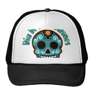 Dia De Los Tiburones.png Trucker Hat