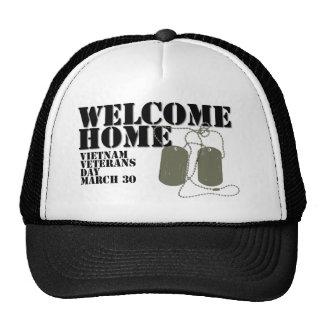 Día de los veteranos casero agradable de Vietnam Gorras